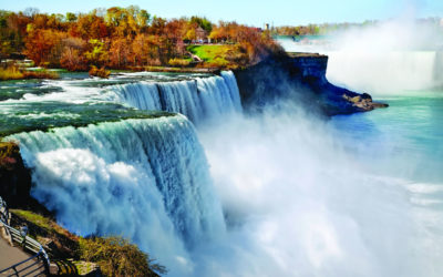 Getting ships past Niagara Falls to the Great Lakes – how is it done?